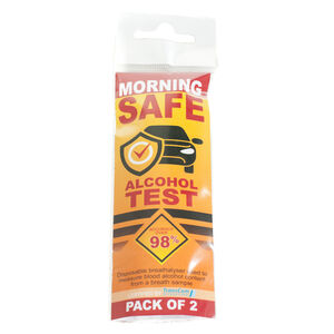 Morning Safe Test and Drive Breath Analysers - 2pc