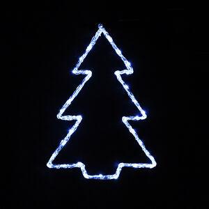 Acrylic Christmas Tree Solhouette Light