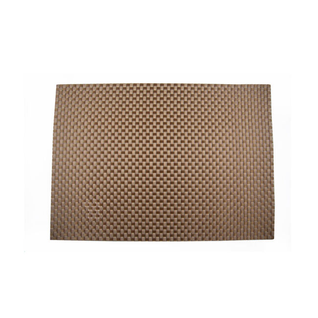 Tabby Weave Placemat Gold
