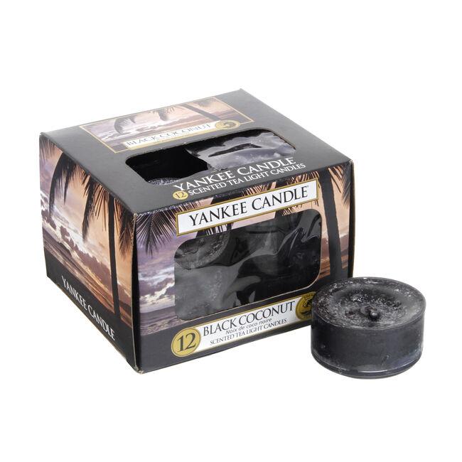 Yankee Candle Black Coconut Tea Lights