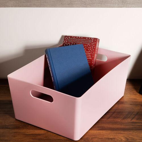 Studio Rectangular Basket 11.5L - Pink