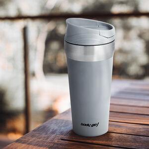 Bodygo Travel Mug with Suction Bottom 380ml - Grey