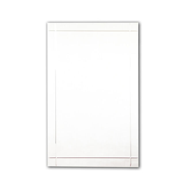 Tema Rect 65cm x 45cm Edges V-Cut Mirror