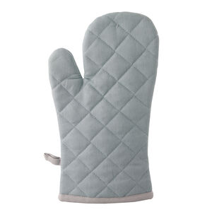 Two Tone Single Oven Glove - Duck Egg/Grey