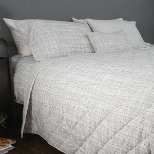 Mono Twine Grey Bedspread