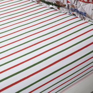 Festive Dogs Fitted Sheet