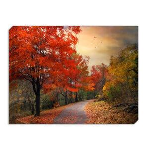 Autumn Road Canvas 60 x 80cm