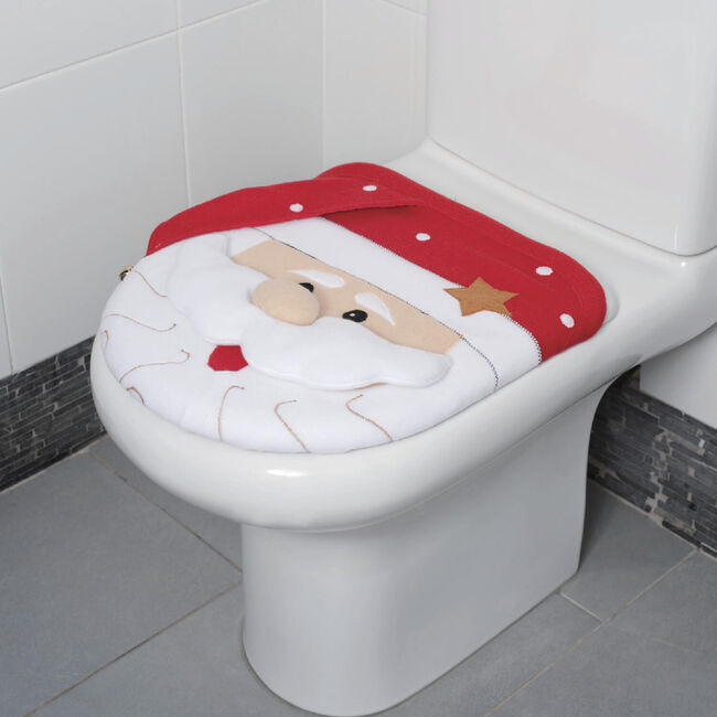 Santa Toilet Cover