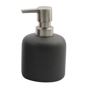 Malmo Ceramic Soap Dispenser Charcoal