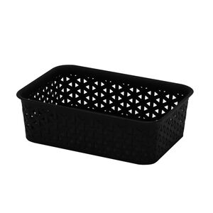 1.5L Basket Black 19x15x6cm