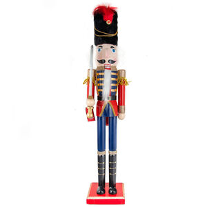 Nutcracker Royal Guard With Sword 91cm