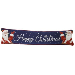 Happy Christmas Santa Draught Excluder 22cm x 90cm