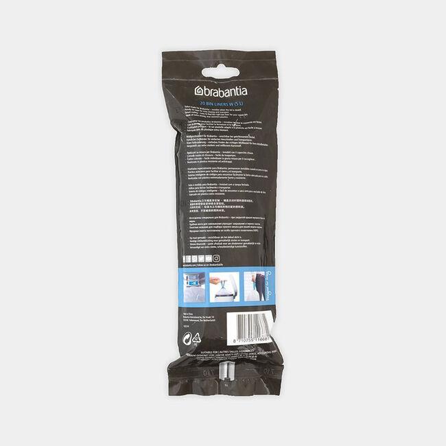 Brabantia Perfect Fit Bin Liners 5L