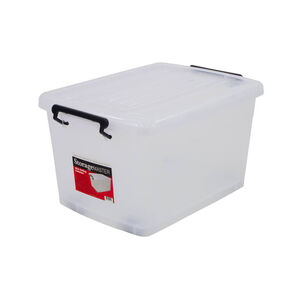 Rolling Storage Container with Lid 46L