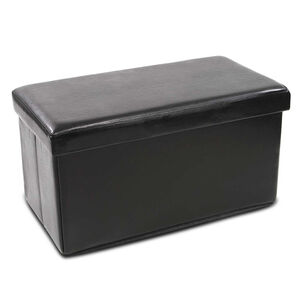 Luxury Double Folding Ottoman Brown