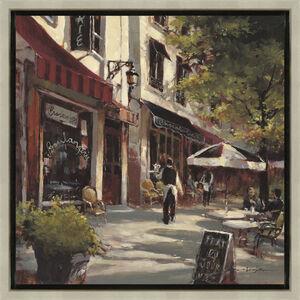 Boulevard Cafe Framed Painting 37cm x 37cm
