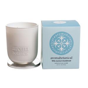 White Jasmine & Sandalwood Medium Jar Candle