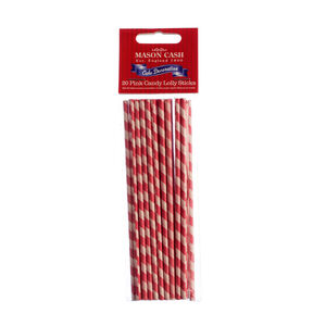 Mason Cash Pink Stripe Lollipop Sticks