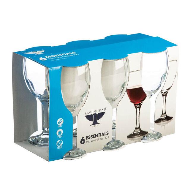Essential Red Wine Glasses 6 Piece