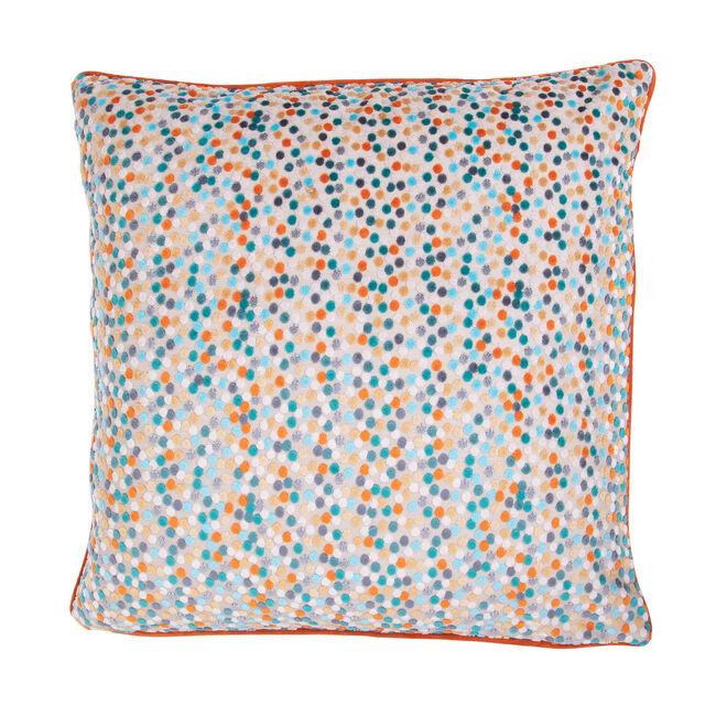 Sophie Spot Cushion 58 x 58cm - Orange