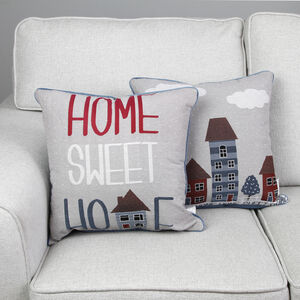 Home Sweet Home Cushion Cover 2 Pack 45x45cm