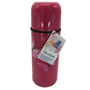 Jelly Childrens Butterfly Flask 350ml
