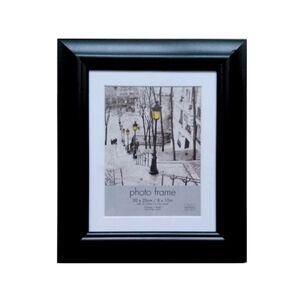 Simply Black Photo Frame 8x10""