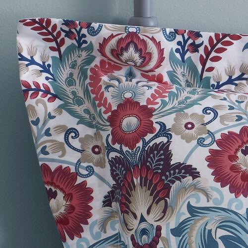 Ellis Oxford Pillowcase Pair - Plum