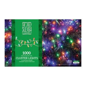 1000 Multicolour LED Cluster Lights