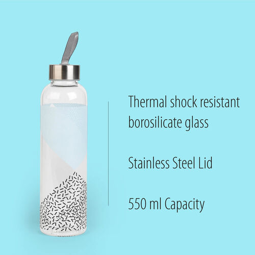 Cambridge Mode Glass Bottle- 550ml