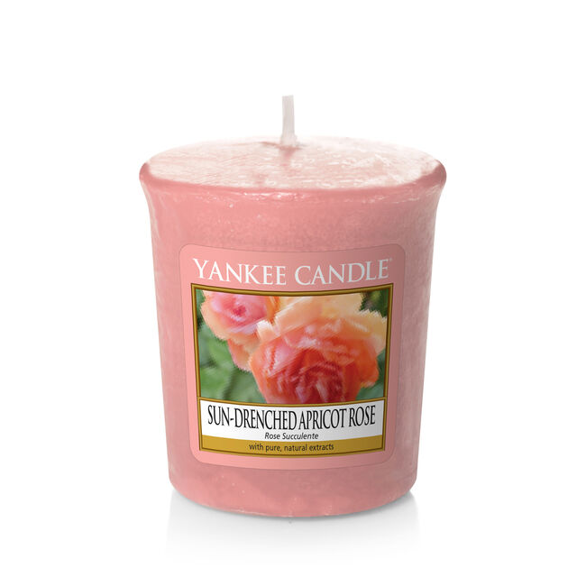 Yankee Candle Sun-Drenched Apricot Rose Votive