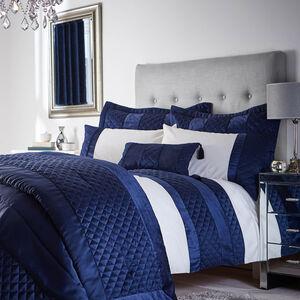 Classic Velvet Navy Pillowshams 50cm x 75cm