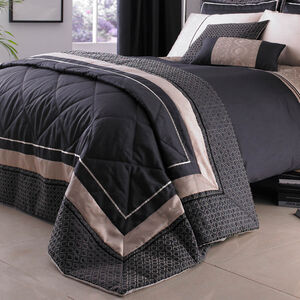 Luxury Geo Natural Bedspread