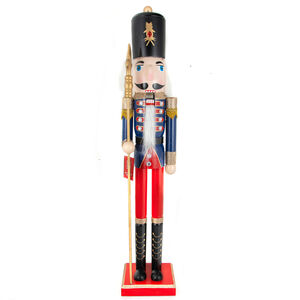 Nutcracker Royal Guard With Spear 91cm