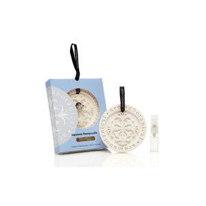 Japanese Honeysuckle Fragrant Ceramic Disc