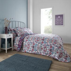 Ellis Bedspread 200x220cm - Plum