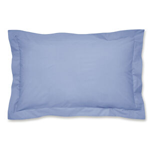Luxury Percale Oxford Pillowcase Pair - Cornflower