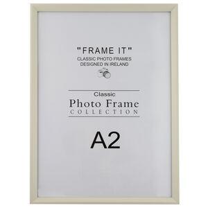 A2 Slim Cream Photo Frame