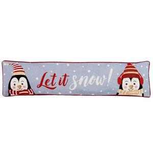Let It Snow Draught Excluder 22cm x 90cm