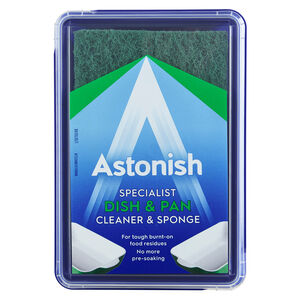 Astonish Premium Dish & Pan Cleaner with Sponge