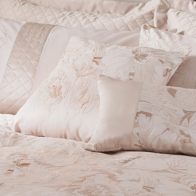 Classical Floral Cream Cushion