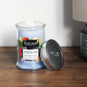 Tuscany 18oz Candle Stressless