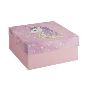 Unicorn Cake Box 10""