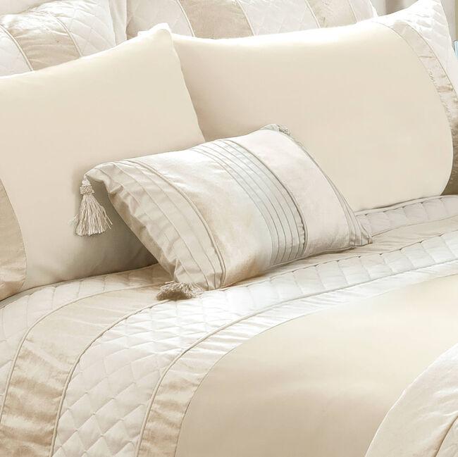 Classic Velvet Cream Cushion 30cm x 50cm