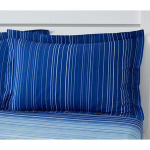 Robert Oxford Pillowcase Pair - Blue