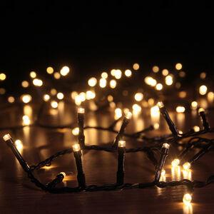 200 Warm White LED Solar String Lights