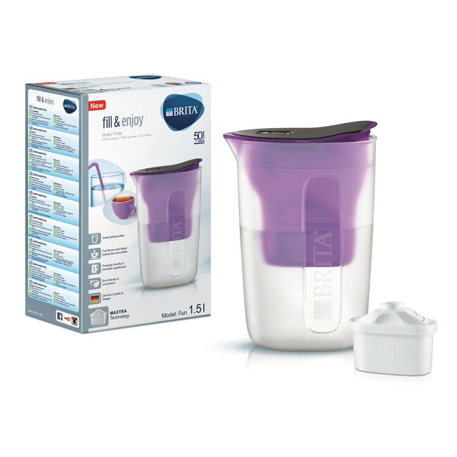 Brita Fun Purple Water Jug