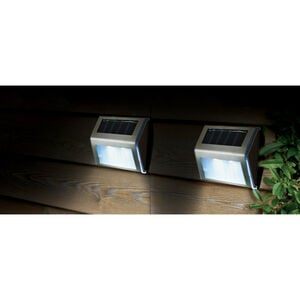 4 Pack Solar Step Lights
