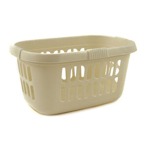 Hipster Large Laundry Basket Cream