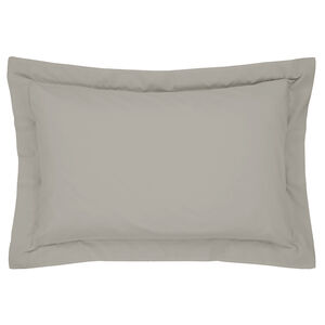 Luxury Percale Oxford Pillowcase Pair - Grey
